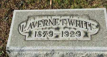 WHITE, LAVERNE F - Richland County, Ohio | LAVERNE F WHITE - Ohio Gravestone Photos