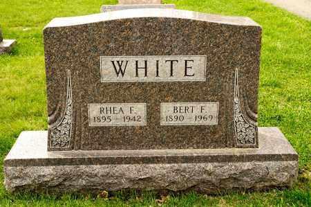 WHITE, BERT F - Richland County, Ohio | BERT F WHITE - Ohio Gravestone Photos