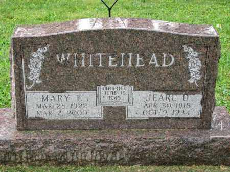WHITEHEAD, MARY E. - Richland County, Ohio   MARY E. WHITEHEAD - Ohio Gravestone Photos