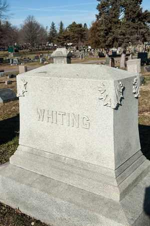 WHITING, EDWARD - Richland County, Ohio | EDWARD WHITING - Ohio Gravestone Photos