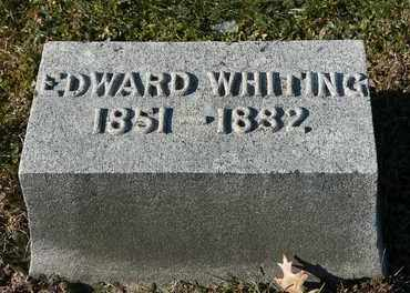 WHITING, EDWARD - Richland County, Ohio | EDWARD WHITING - Ohio Gravestone Photos