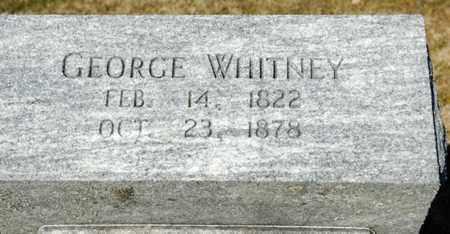 WHITNEY, GEORGE - Richland County, Ohio | GEORGE WHITNEY - Ohio Gravestone Photos