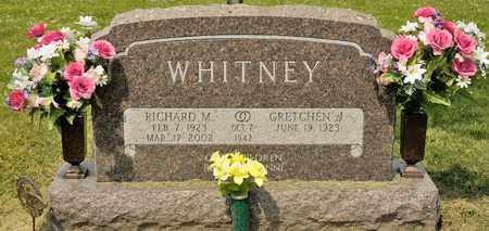 WHITNEY, RICHARD M - Richland County, Ohio   RICHARD M WHITNEY - Ohio Gravestone Photos