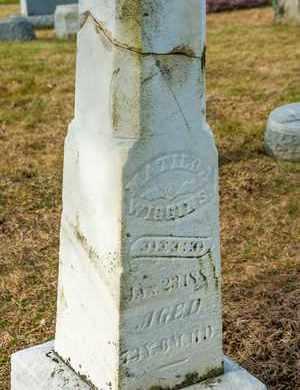 WIGGINS, MATILDA - Richland County, Ohio | MATILDA WIGGINS - Ohio Gravestone Photos