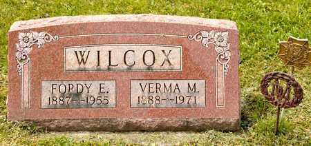 WILCOX, FORDY E - Richland County, Ohio | FORDY E WILCOX - Ohio Gravestone Photos
