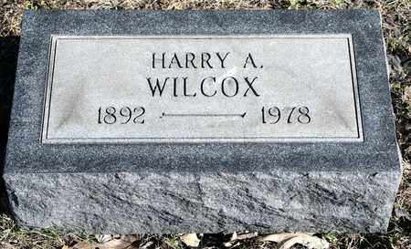 WILCOX, HARRY A - Richland County, Ohio | HARRY A WILCOX - Ohio Gravestone Photos
