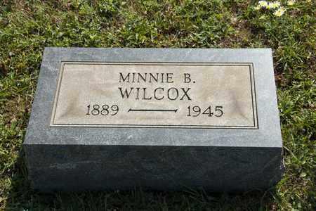 WILCOX, MINNIE B - Richland County, Ohio | MINNIE B WILCOX - Ohio Gravestone Photos