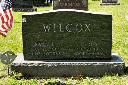 WILCOX, PAUL E - Richland County, Ohio | PAUL E WILCOX - Ohio Gravestone Photos