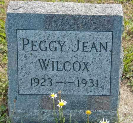 WILCOX, PEGGY JEAN - Richland County, Ohio | PEGGY JEAN WILCOX - Ohio Gravestone Photos