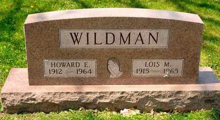 WILDMAN, HOWARD E - Richland County, Ohio | HOWARD E WILDMAN - Ohio Gravestone Photos