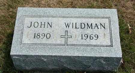 WILDMAN, JOHN - Richland County, Ohio   JOHN WILDMAN - Ohio Gravestone Photos