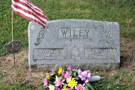WILEY, GEORGE W - Richland County, Ohio   GEORGE W WILEY - Ohio Gravestone Photos