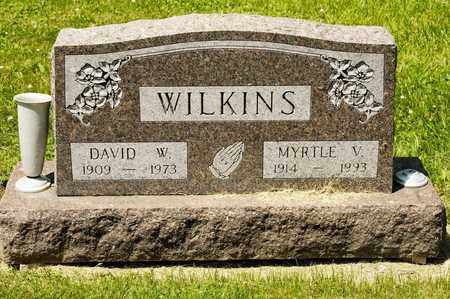 WILKINS, MYRTLE V - Richland County, Ohio   MYRTLE V WILKINS - Ohio Gravestone Photos