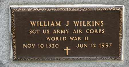 WILKINS, WILLIAM J - Richland County, Ohio   WILLIAM J WILKINS - Ohio Gravestone Photos