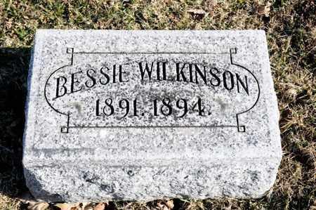 WILKINSON, BESSIE - Richland County, Ohio | BESSIE WILKINSON - Ohio Gravestone Photos