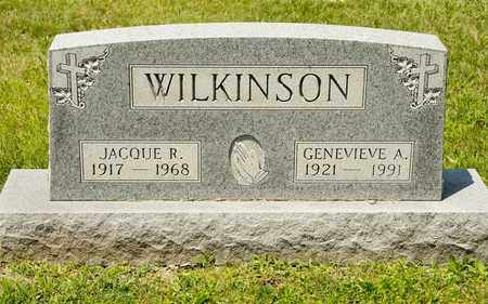 WILKINSON, GENEVIEVE A - Richland County, Ohio | GENEVIEVE A WILKINSON - Ohio Gravestone Photos