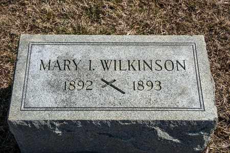 WILKINSON, MARY I - Richland County, Ohio | MARY I WILKINSON - Ohio Gravestone Photos