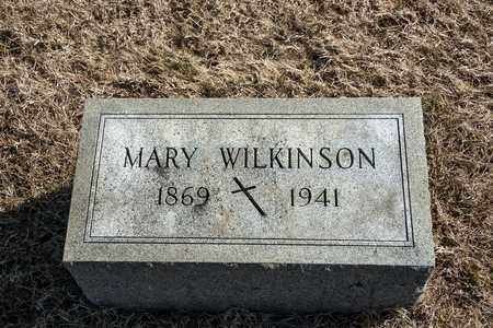WILKINSON, MARY - Richland County, Ohio | MARY WILKINSON - Ohio Gravestone Photos
