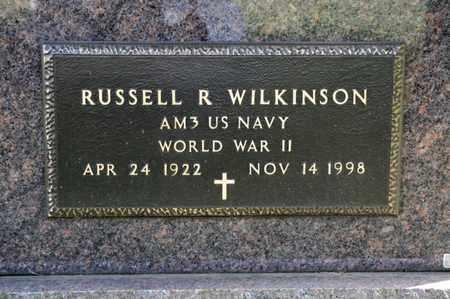 WILKINSON, RUSSELL R - Richland County, Ohio   RUSSELL R WILKINSON - Ohio Gravestone Photos