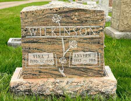 WILKINSON, VINA J - Richland County, Ohio   VINA J WILKINSON - Ohio Gravestone Photos