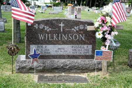 WILKINSON, RUSSELL R - Richland County, Ohio | RUSSELL R WILKINSON - Ohio Gravestone Photos