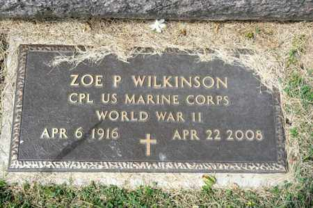 WILKINSON, ZOE P - Richland County, Ohio | ZOE P WILKINSON - Ohio Gravestone Photos