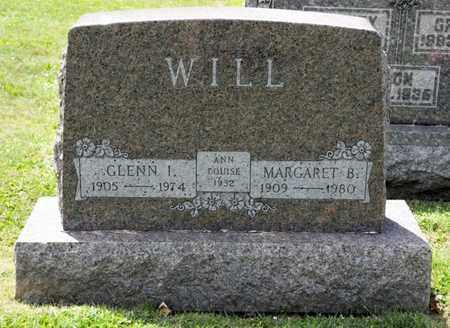 WILL, GLENN I - Richland County, Ohio   GLENN I WILL - Ohio Gravestone Photos