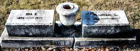 WILL, IDA E - Richland County, Ohio   IDA E WILL - Ohio Gravestone Photos