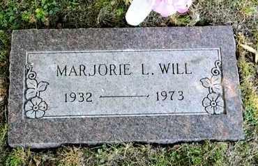 WILL, MARJORIE L - Richland County, Ohio   MARJORIE L WILL - Ohio Gravestone Photos