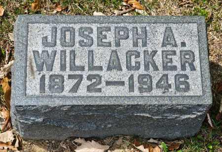 WILLACKER, JOSEPH A - Richland County, Ohio   JOSEPH A WILLACKER - Ohio Gravestone Photos