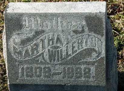 WILLERTON, MARTHA - Richland County, Ohio | MARTHA WILLERTON - Ohio Gravestone Photos