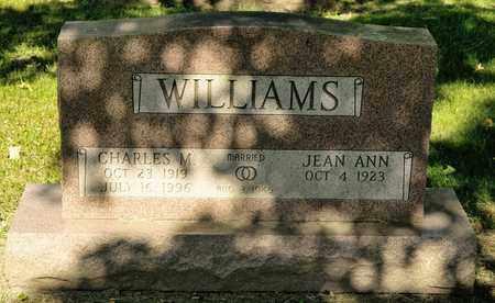 WILLIAMS, CHARLES M - Richland County, Ohio | CHARLES M WILLIAMS - Ohio Gravestone Photos