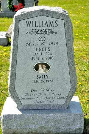WILLIAMS, DINGUS - Richland County, Ohio | DINGUS WILLIAMS - Ohio Gravestone Photos