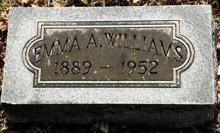 WILLIAMS, EMMA A - Richland County, Ohio   EMMA A WILLIAMS - Ohio Gravestone Photos