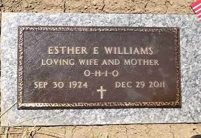 WILLIAMS, ESTHER E - Richland County, Ohio   ESTHER E WILLIAMS - Ohio Gravestone Photos