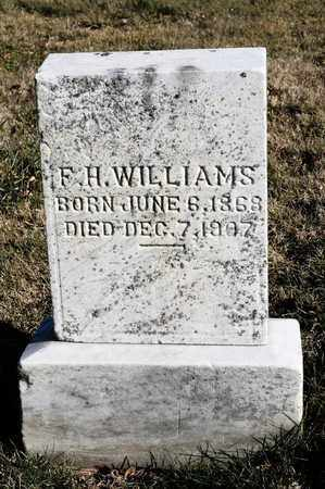 WILLIAMS, F H - Richland County, Ohio | F H WILLIAMS - Ohio Gravestone Photos