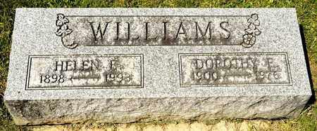 WILLIAMS, HELEN E - Richland County, Ohio | HELEN E WILLIAMS - Ohio Gravestone Photos