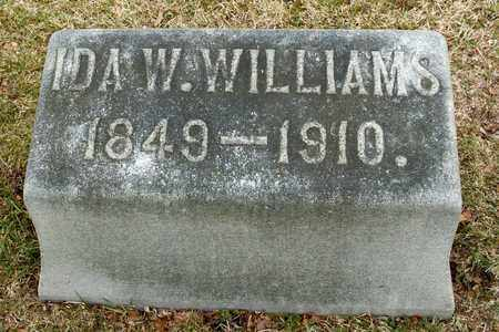WILLIAMS, IDA W - Richland County, Ohio   IDA W WILLIAMS - Ohio Gravestone Photos