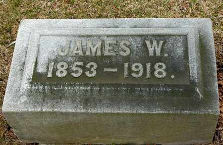 WILLIAMS, JAMES W - Richland County, Ohio | JAMES W WILLIAMS - Ohio Gravestone Photos