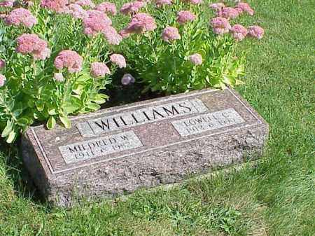 WILLIAMS, MILDRED W. - Richland County, Ohio | MILDRED W. WILLIAMS - Ohio Gravestone Photos