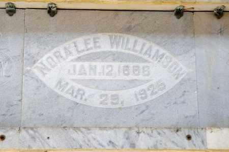 WILLIAMSON, NORA LEE - Richland County, Ohio | NORA LEE WILLIAMSON - Ohio Gravestone Photos