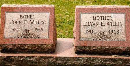 WILLIS, JOHN F - Richland County, Ohio   JOHN F WILLIS - Ohio Gravestone Photos