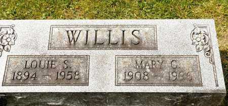 WILLIS, MARY C - Richland County, Ohio | MARY C WILLIS - Ohio Gravestone Photos