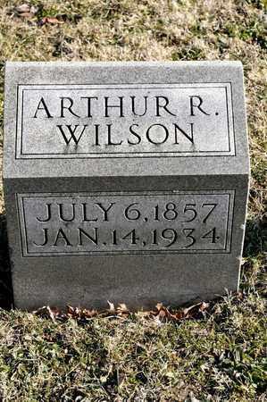 WILSON, ARTHUR R - Richland County, Ohio | ARTHUR R WILSON - Ohio Gravestone Photos