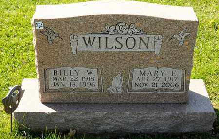 WILSON, BILLY W - Richland County, Ohio | BILLY W WILSON - Ohio Gravestone Photos