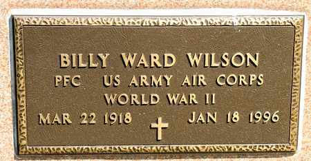 WILSON, BILLY WARD - Richland County, Ohio | BILLY WARD WILSON - Ohio Gravestone Photos