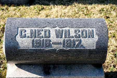 WILSON, C NED - Richland County, Ohio | C NED WILSON - Ohio Gravestone Photos