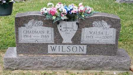 WILSON, WALSA L - Richland County, Ohio | WALSA L WILSON - Ohio Gravestone Photos