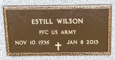 WILSON, ESTILL - Richland County, Ohio | ESTILL WILSON - Ohio Gravestone Photos