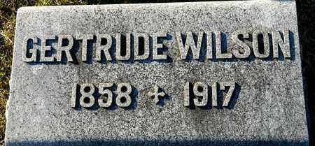 WILSON, GERTRUDE - Richland County, Ohio | GERTRUDE WILSON - Ohio Gravestone Photos
